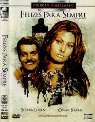 DVD FELIZES PARA SEMPRE - SOPHIA LOREN e OMAR SHARIF
