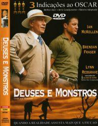 DVD DEUSES E MONSTROS - IAN MCKELLEN