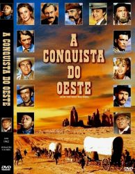 DVD A CONQUISTA DO OESTE - 1962