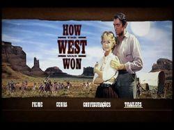 DVD A CONQUISTA DO OESTE - 1962