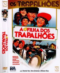DVD OS TRAPALHOES - A FILHA DOS TRAPALHOES