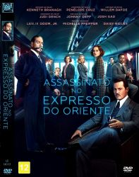 DVD ASSASSINATO NO EXPRESSO ORIENTE - 2018 - JOHNNY DEPP