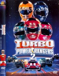DVD POWER RANGERS TURBO 2