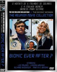 DVD O HOMEM DE 6 MILHOES DE DOLARES - A MULHER BIONICA - BIONICOS PARA SEMPRE