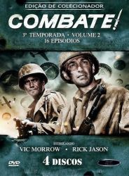 DVD COMBATE - 3 TEMP - VOL 2 - 4 DVDs
