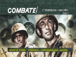 DVD COMBATE - 3 TEMP - VOL 2 - 4 DVDs