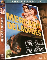 DVD MERCADO DE LADROES - RICHARD CONTE