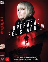 DVD OPERAÇAO RED SPARROW - JENNIFER LAWRENCE