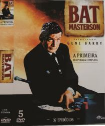 DVD BAT MASTERSON - 1 TEMP - 5 DVDs