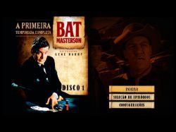 DVD BAT MASTERSON - 1 TEMP - 5 DVDs