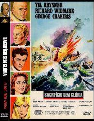 DVD SACRIFICIO SEM GLORIA - YUL BRYNNER