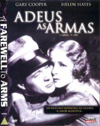 DVD ADEUS AS ARMAS - 1932