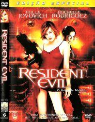 DVD RESIDENT EVIL - O HOSPEDE MALDITO