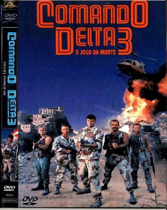 SPACETREK66 - DVD COMANDO DELTA 3 - O JOGO DA MORTE