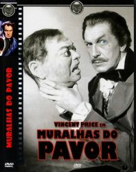 DVD MURALHAS DO PAVOR - VINCENTE PRICE