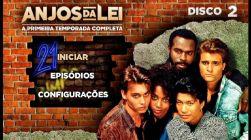 DVD ANJOS DA LEI - 1 TEMP - 4 DVD - LEGENDADO