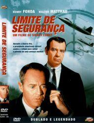DVD LIMITE DE SEGURANÇA - HENRY FONDA - 1964