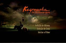 DVD KAGEMUSHA - A SOMBRA DO SAMURAI - TATSUYA NAKADAI