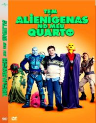DVD TEM ALIENIGENAS NO MEU QUARTO - WILLIAM SHATNER
