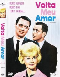 DVD VOLTA MEU AMOR - DORIS DAY - ROCK HUDSON