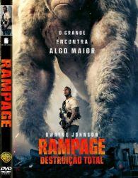 DVD RAMPAGE - DESTRUIÇAO TOTAL - DWAYNE JOHNSON