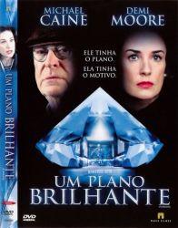 DVD UM PLANO BRILHANTE - DEMI MOORE