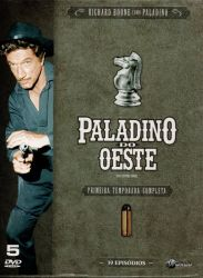 DVD PALADINO DO OESTE - 1 TEMP - 5 DVDs