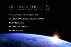 DVD PLANETA TERRA - A TERRA COMO VOCE NUNCA VIU - VOL 5