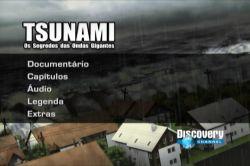 DVD TSUNAMI - OS SEGREDOS DAS ONDAS GIGANTES