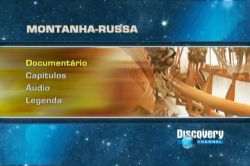 DVD DISCOVERY - MONTANHA RUSSA