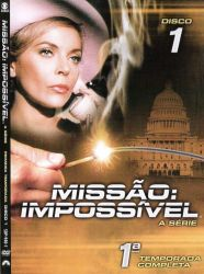 DVD MISSAO IMPOSSIVEL - 1 TEMP - 7 DVD