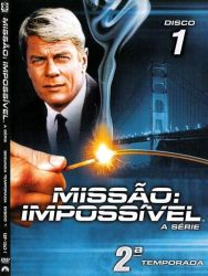 DVD MISSAO IMPOSSIVEL - 2 TEMP - 7 DVD