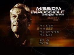 DVD MISSAO IMPOSSIVEL - 2 TEMP - 7 DVD