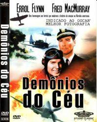 DVD DEMONIOS DO CEU - ERROL FLYNN