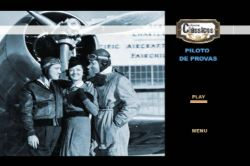 DVD PILOTO DE PROVAS - CLARK GABLE