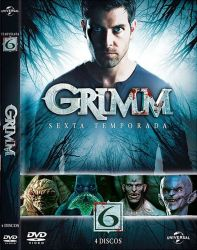 DVD GRIMM - 6 TEMP - 4 DVD