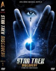DVD STAR TREK DISCOVERY - 1 TEMP - 5 DVDs