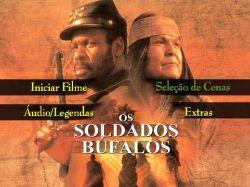 DVD OS SOLDADOS BUFALOS - DANNY GLOVER