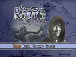 DVD NANOOK O ESQUIMO