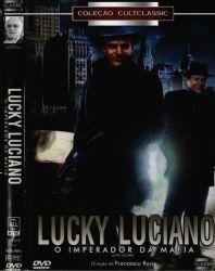 DVD LUCKY LUCIANO - O IMPERADOR DA MAFIA - VINCENT GARDENIA