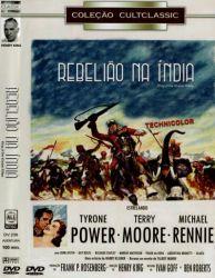 DVD REBELIAO NA INDIA - TYRONE POWER