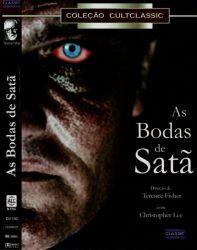 DVD AS BODAS DE SATA - CHRISTOPHER LEE