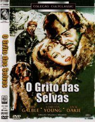 DVD O GRITO DAS SELVAS - CLARK GABLE