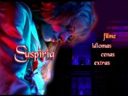 DVD SUSPIRIA - 3 DVDs