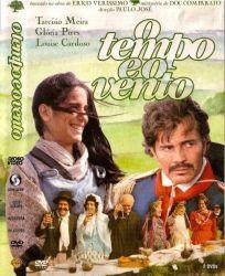 DVD O TEMPO E O VENTO - TARCÍSIO MEIRA - DISCO DUPLO