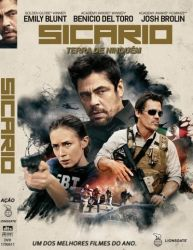 DVD SICARIO - TERRA DE NINGUEM - EMILY BLUNT