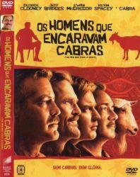 DVD OS HOMENS QUE ENCARAVAM CABRAS - JEFF BRIDGES