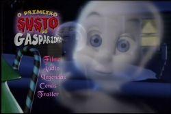 DVD O PRIMEIRO SUSTO DO GASPARZINHO