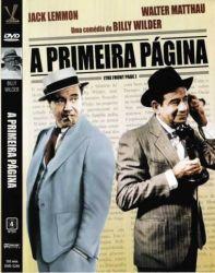 DVD A PRIMEIRA PAGINA - WALTER MATTHAU