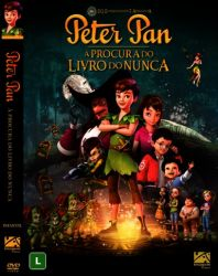 DVD PETER PAN - A PROCURA DO LIVRO DO NUNCA